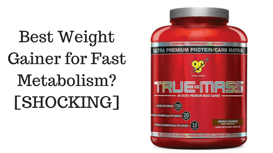 Best Weight Gainer for Fast skinny people infographic